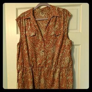 Flirty Print Dress